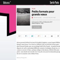 8 novembre 2017 Petits formats pour Grands voeux